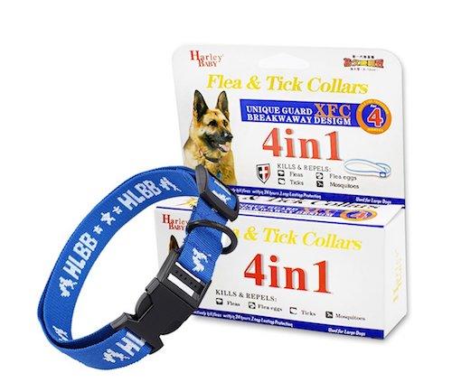 Collare Antipulci 4 in 1 Per Cani e Gatti