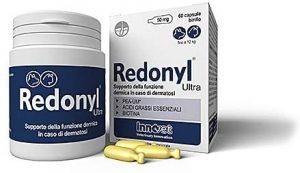 Redonyl<br>Controllo della Funzione Dermica per Dermatosi e Perdita Pelo